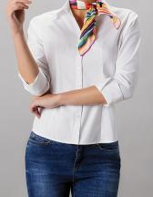 Women`s Tailored Fit Corporate Oxford Shirt 3/4-Sleeve
