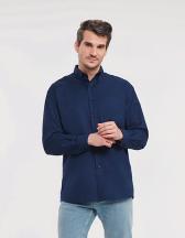 Men`s Long Sleeve Classic Oxford Shirt